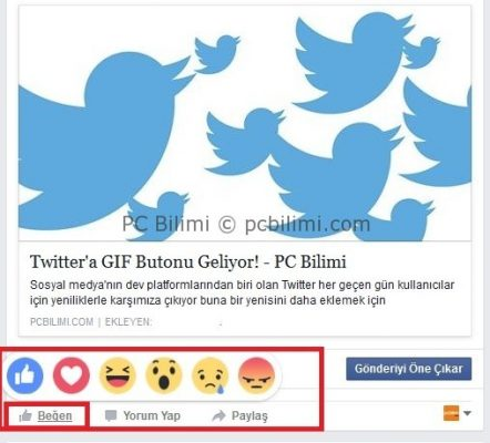 facebook-begen-butonu